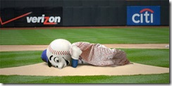 Mr Met not sleeping