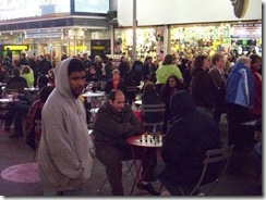 Times Square chess