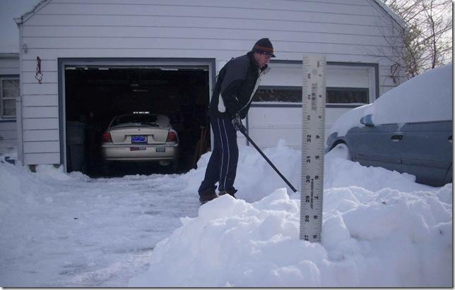 Shoveling Our December 27 c