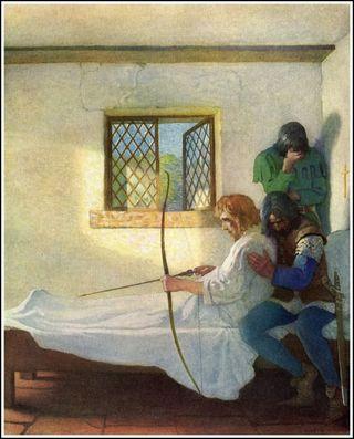 Wyeth Robin's Last Arrow