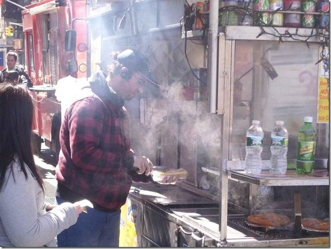 NYC 03 20 11 Hot Dog Vendor