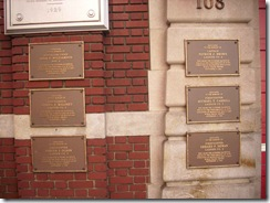 NYC 03 20 11 Ladder 3 plaques