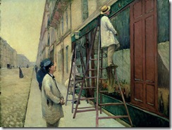 caillebotte the house painters