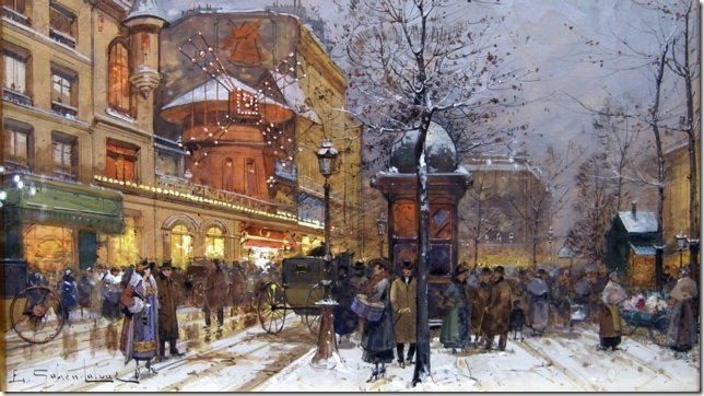 Galien-Laloue Le Moulin Rouge