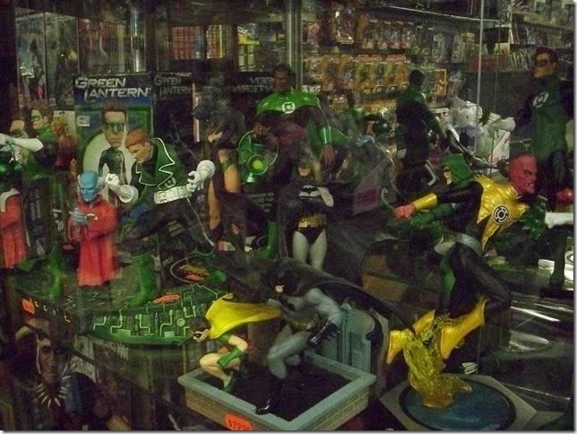 06 19 11 NYC Forbidden Planet Too Many Lanterns