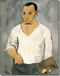 Picasso Self-portrait