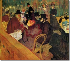 Lautrec At the Moulin Rogue