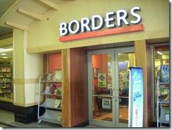 Borders entrance 07 20 11