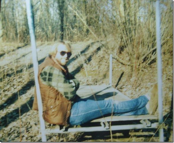LM at Fox Island long ago