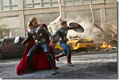 Avengers Thor and Cap