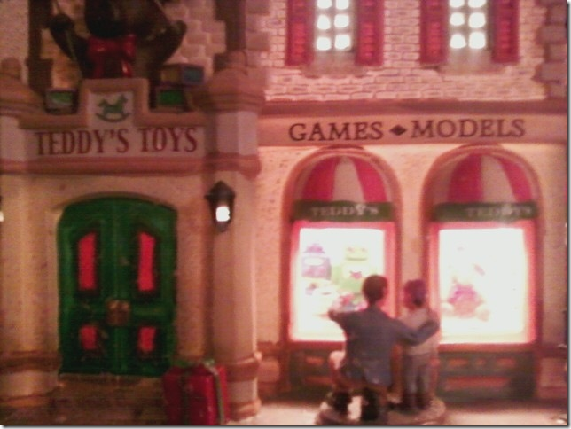 Teddy's toys'