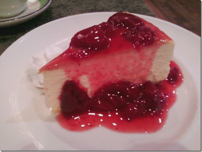 06 14 2012 RCMH Lindy's strawberry cheesecake