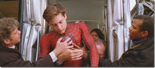 Maguire Spidey the people to the rescue