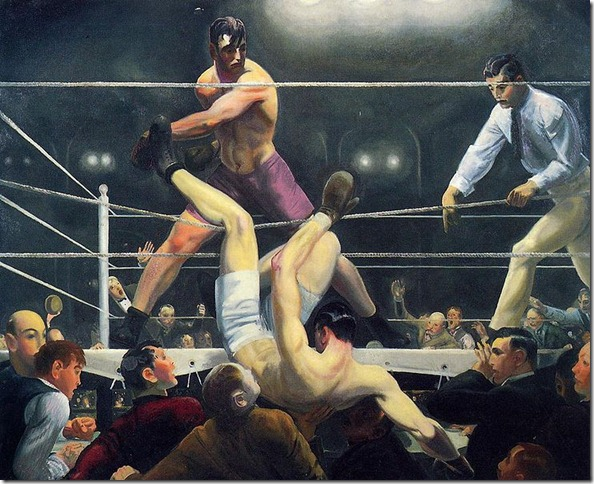 Bellows Dempsey and Firpo