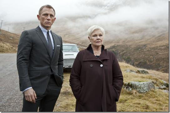 Skyfall Bond and M bond