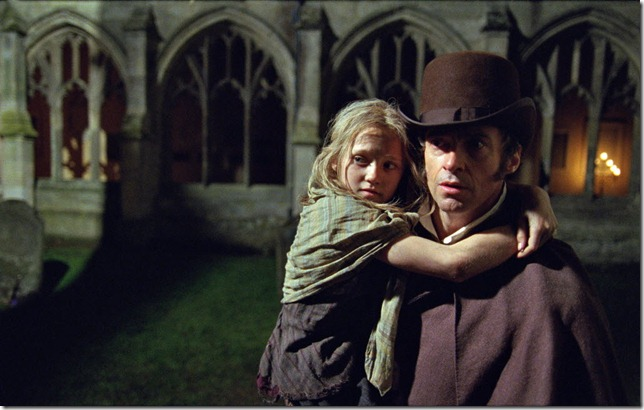 Les Mis Cosette and Valjean escape
