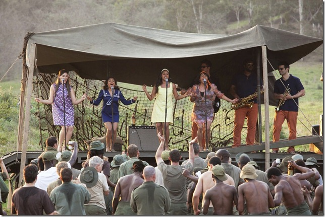 The Sapphires On tour in Nam