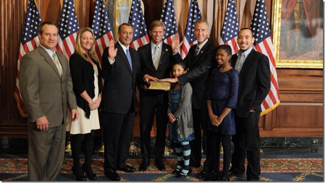 Sean Patrick Maloney swearing in