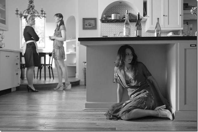 Amy Acker as Beatrice in Much Ado About Nothing.