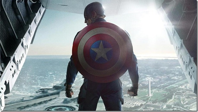 Captain America The Winter Soldier no parachute