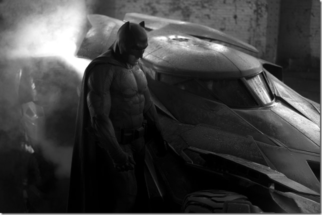 Batman Affleck brooding
