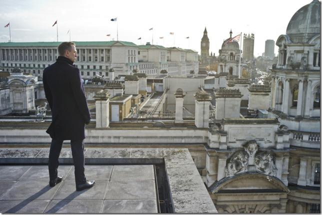 Skyfall Bond and London