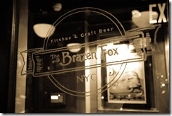 Brazen Fox window bf gallery