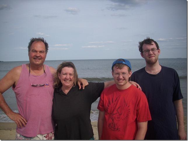 2014 08 16 Melrose Revere Beach Foursome 2