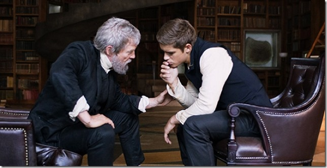 The Giver Jeff Bridges and friend