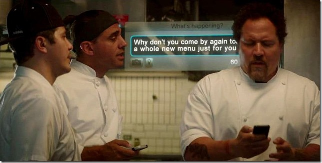 Chef Using the Twitter
