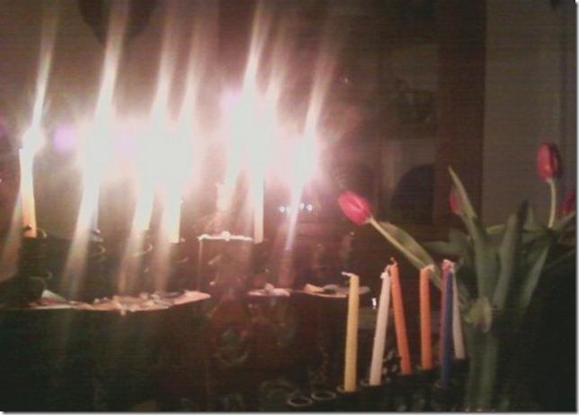 2014 12 21 Hanukkah at the Sobermans 6th Night