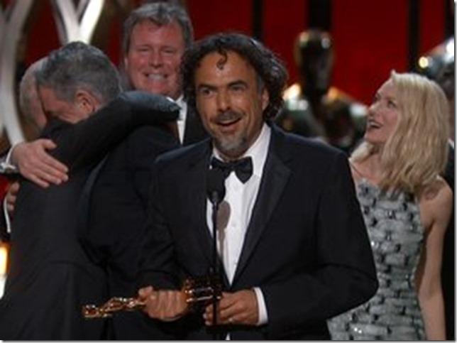 Oscars 2015 Inarritu Birdman Best Picture