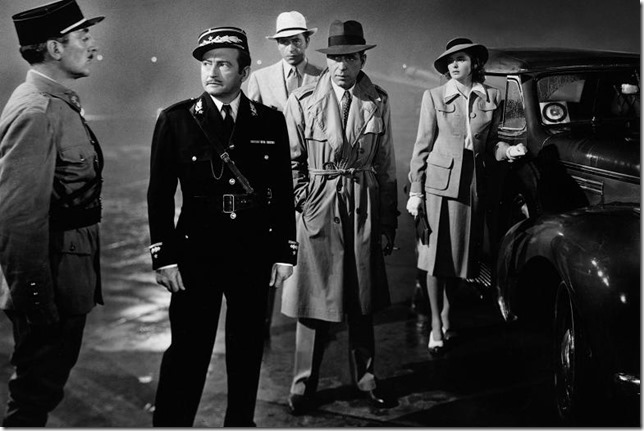 Casablanca Round up the usual suspects