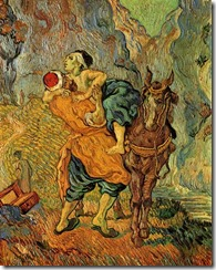 Bible Van Gogh Good Samaritan