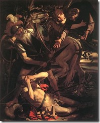Bible Conversion of Paul Caravaggio