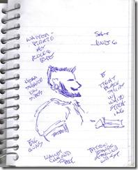 Sketch 2015 06 06 Dread Pirate Waiter