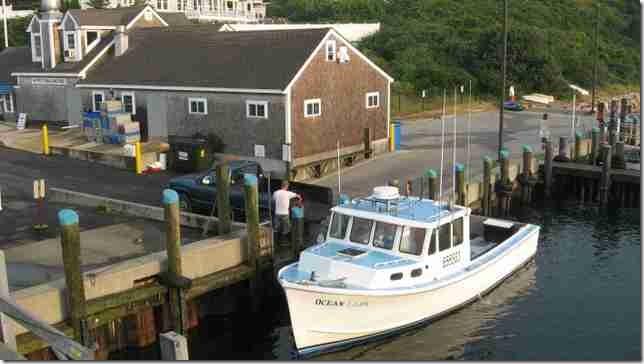 2007 07 09 Chatham Fish Pier Lady Ocean