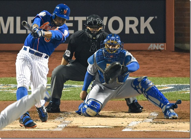 Mets Granderson leadoff HR Game 5 NYP