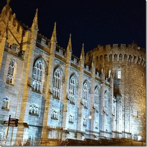 Post Card Dublin Castle Tom Watson 2015 11 07