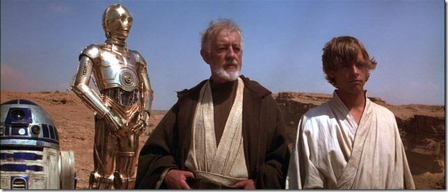 Star Wars Ben Kenobi Luke Mos Eisley