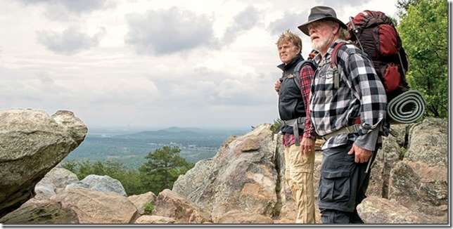 Lance Mannion A Walk In The Woods Robert Redford And Nick Nolte Take A Cheerful Hike With Death