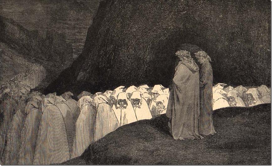 Dante Inferno Hypocrites Dore