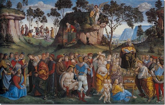 Bible Testament and Death of Moses Signorelli Wikipedia
