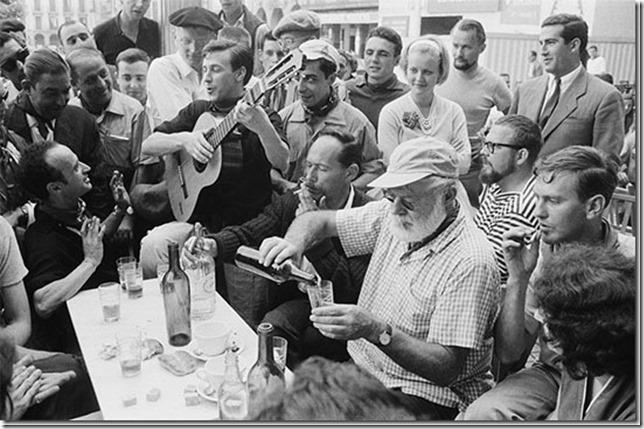 Hemingway Papa in Spain