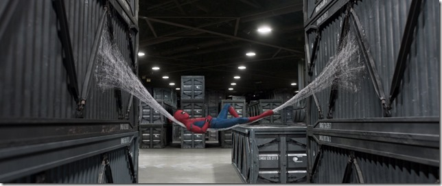 Spider Man Homecoming Resting up