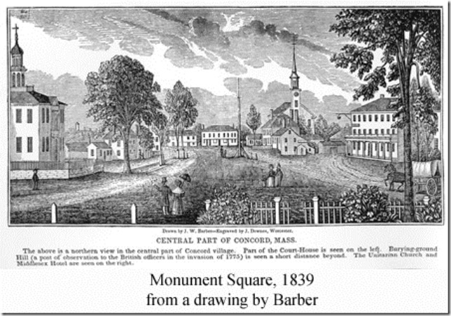 Thoreau Concord 1839 Concord Library