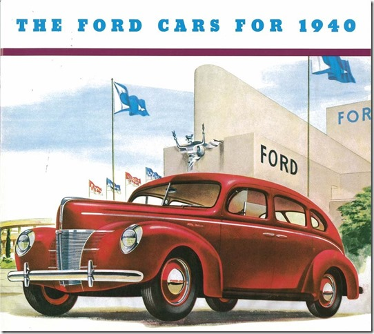 Ford 1940 Sedan Sales Brochure Amazon