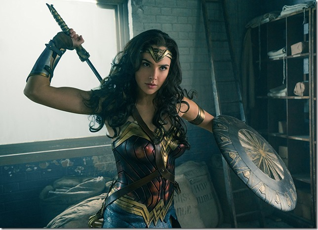 Wonder Woman Gal Gadot wonderful as Wonder Woman