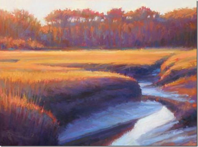 Ed Chesnovich Run Out at Low Tide Left Bank Gallery
