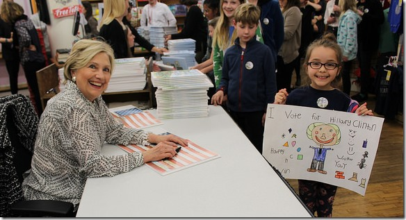 HRC Hillary and the Future at the Strand 2017 11 29 Strand Flikr